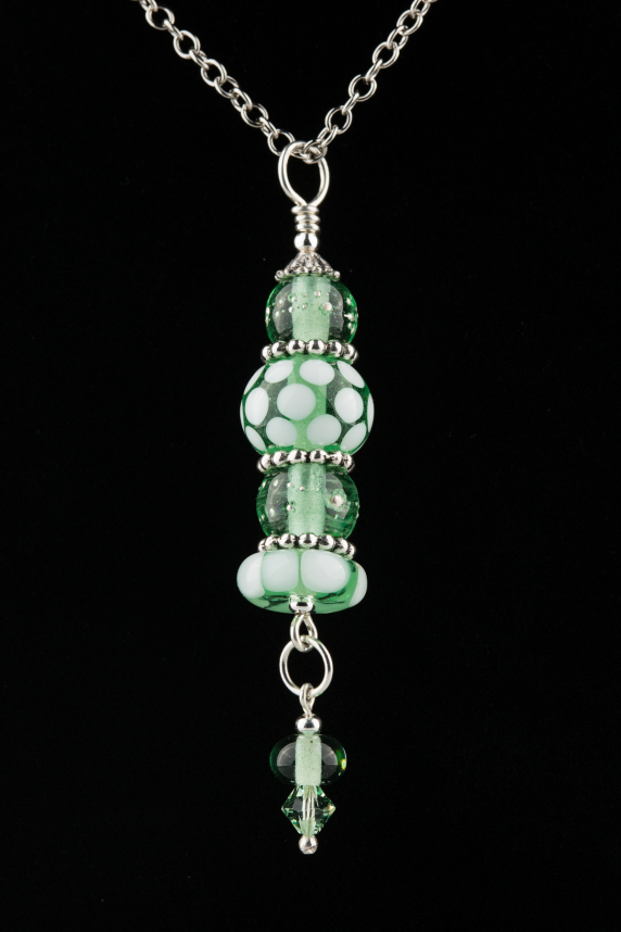 Green Chandelier Pendant